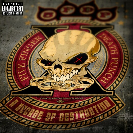 Five Finger Death Punch - A Decade of Destruction / Vinyl / 2LP