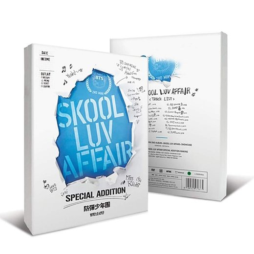 BTS: Skool Luv Affair (Special Addition) CD+2DVD